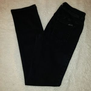 SO slimming by Chico's size 0, black jeans